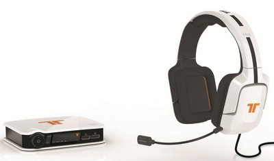 3D Sound Headset In Black And White