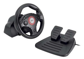 Feedback USB Wheel With Black Pedal Mat