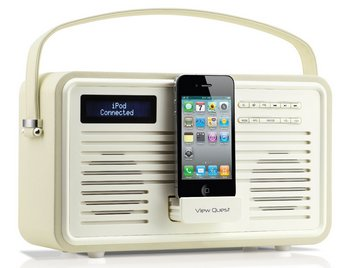 Retro ColourGen DAB+ 20 Watts Radio With Phone In Dock