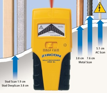 Scanner TruCal Live Cable Detector In Yellow And Black Finish