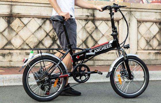 Folding Electric Bike In Black