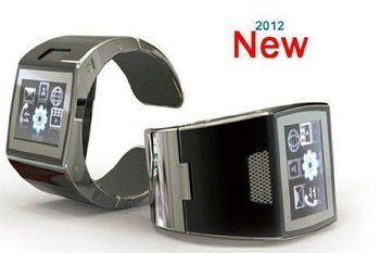 Unlocked Bluetooth Phone Watch Showing Bracelet Cose Up