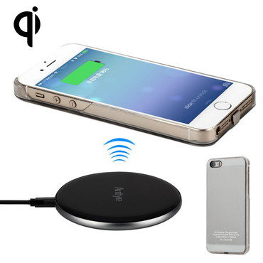Blue LED Qi Wireless Charging Plate For iPhones With Mobile
