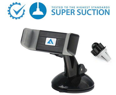 In Car Mobile Phone Holder With Blue Logo