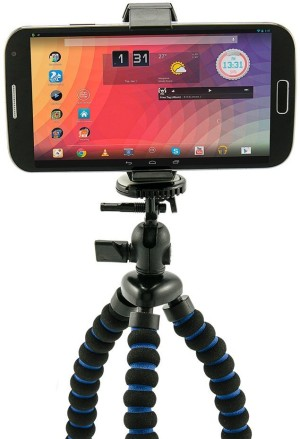Smart Phone Tripod Mount For iPhone With Padded Legs