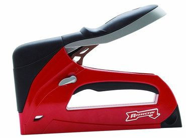 Steel Staple Gun For Upholstery In Red Casing