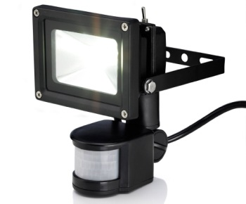 10W LED Flood Light In Black Finish
