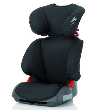 Impact Safe Car High Back Booster Seat With Black Textile