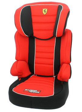Portable Befix Cheap Child Booster Seat In Bright Red