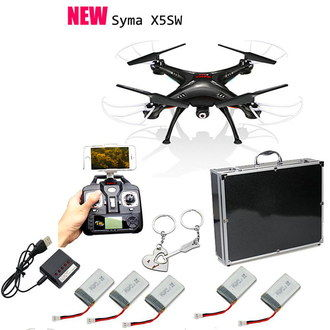Quadcopter Drone With HD Camera With RC And Case