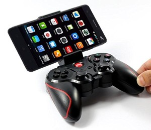Bluetooth Game Pad With Smartphone Connected