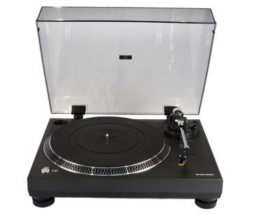 Anti-Skating Hi-Fi Turntable With Hinge Cover