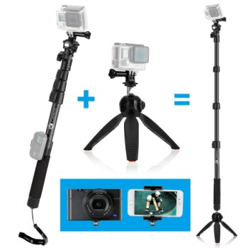 Smartphone Tripod Mount With Placed Camera