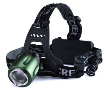 Canwelum Rechargeable Bright Head Torch In Black Exterior