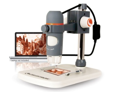Digital Microscope In Grey Finish