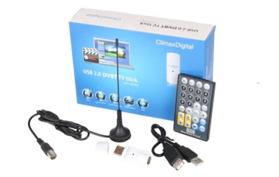 TV DVB-T USB Freeview With Blue Box