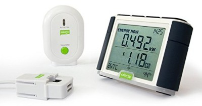 Home Energy Usage Monitor In Black And White