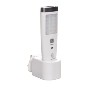 Plug-In Night Light Motion Sensor In All White Finish