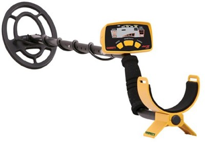 LCD Beginner Metal Detector In Black And Lime Green