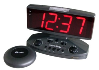 Extra Loud Alarm Clock With Red Digits