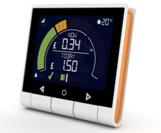 Energy Saving Monitor With Blue Screen