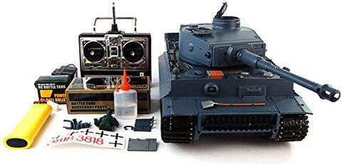 Tiger Tank With Box Transmitter