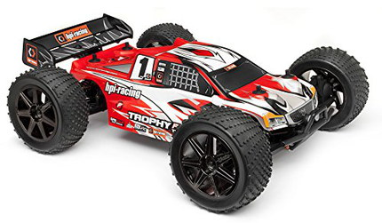 Brushless Rc Car With Huge Black Tyres