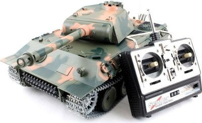 Remote Battle Tank With RC Box