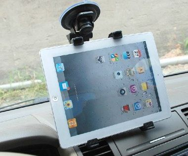 7-10 Inches Car Tablet Dashboard Mount Fixed To Screen