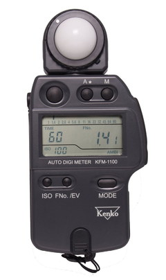 Light Meter For Photography With Black Strap