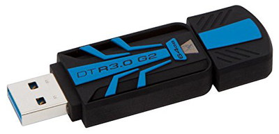 USB 3 Drive In Black And Blue