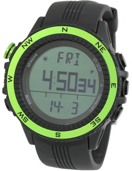Watch For Runners Altimeter With Black Strap