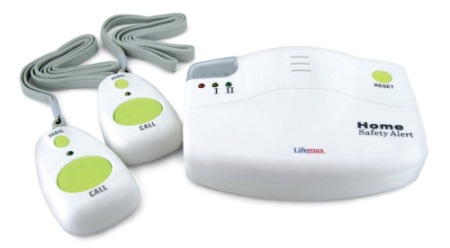 Lifemax Emergency Alarm For The Elderly In White And Orange