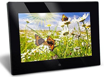 SuperClear Photo Frame In Black Casing