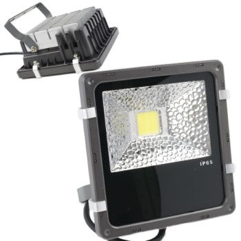 LED Light For Garden In Black And Grey Casing