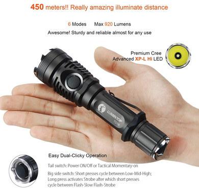 best 1000 lumen flashlight