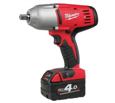 Impact Wrench With Black Hand Grip