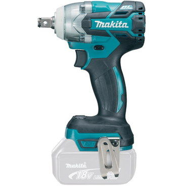 Rotary Style 18V Cordless Impact Wrench In Aqua Blue Exterior