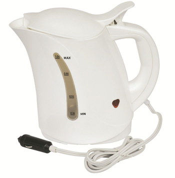 MegaStore 150W 12v In Car Kettle In White