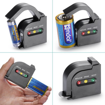 Neewer Battery Tester AAA, AA Organiser Containing Blue Battery