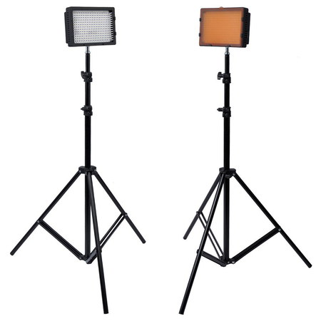 Neewer Photography Studio Lighting Kit With Black Tripods