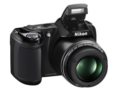 Nikon Coolpix L330 20 Mega-Pixel Camera In Black Casing