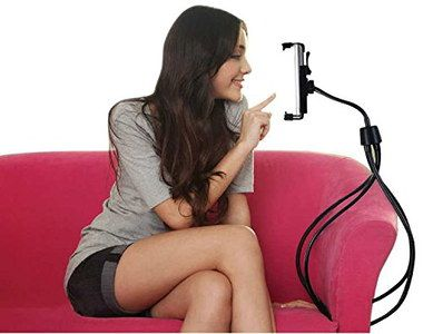 Tablet Mount With 4 Black Flexible Legs