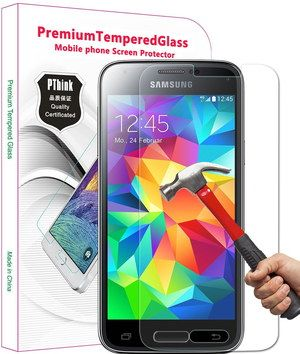 0.3mm Anti Fingerprint Screen Protector With Red Hammer
