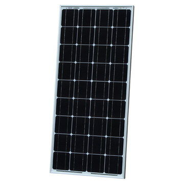 Solar Panel For Camping In Black Casing