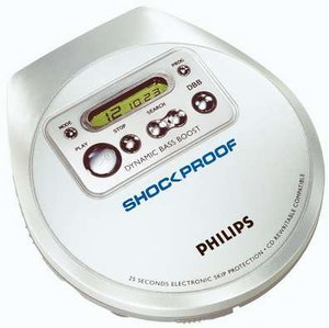 Philips Dynamic Bass Portable CD Player