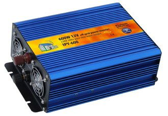 Power Inverter In Blue And Orange Exterior
