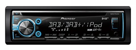 DAB+ Tuner Car Stereo With Blue Dial
