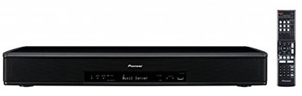 Wireless Dual Subwoofers TV Speaker In Black