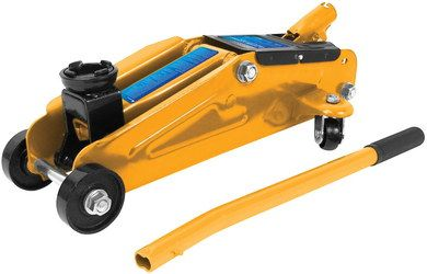 Lightweight Trolley Jack 2 Ton In Orange Finish